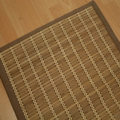 2 x 3 Bamboo Light Mat With Cotton Border