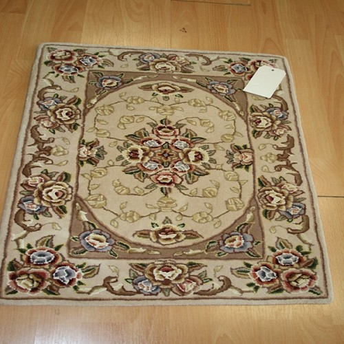 2 x 3 Wool & Silk Floral Traditional Entry Rug