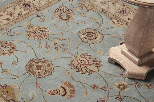Amer Rugs Cardinal Clement AC52 Light Blue Ivory Rug