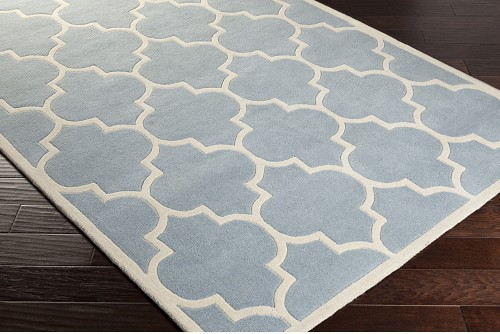 Artistic Weavers Transit Piper AWHE2018 Light Blue/White Area Rug