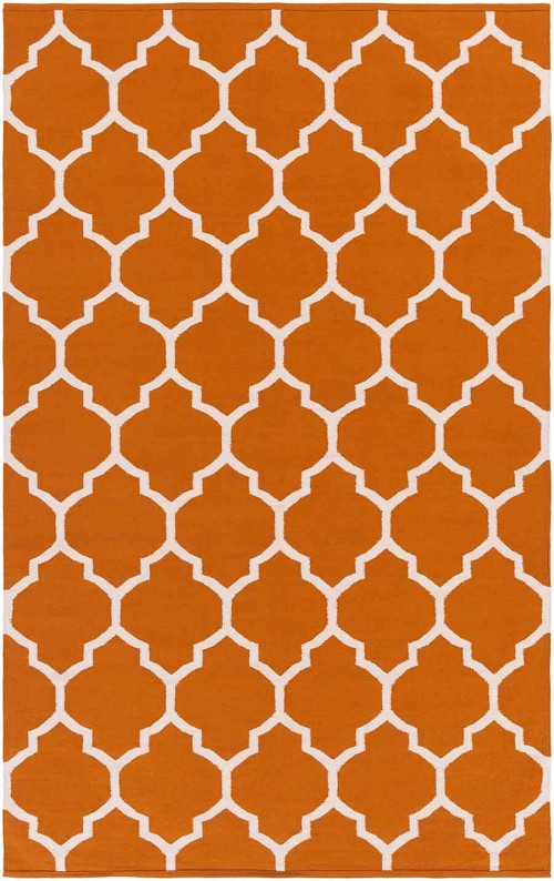 Artistic Weavers Vogue Claire AWLT3011 Coral/White Area Rug