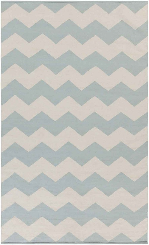Artistic Weavers Vogue Collins AWLT3021 Light Blue/White Area Rug