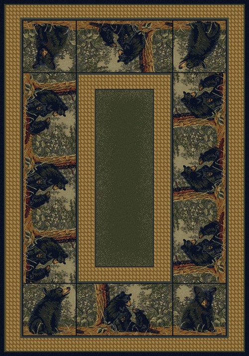 Bear Family 132 40075 Hautman Rug by United Weavers