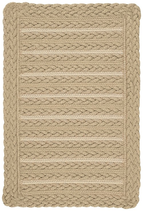 Beige Boathouse Rug by Capel