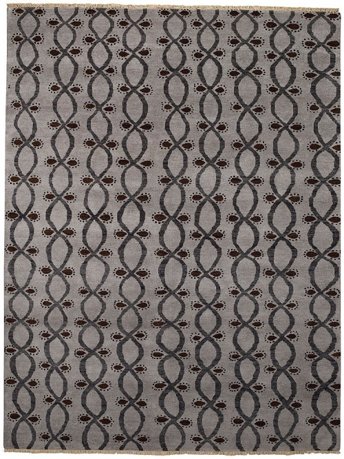 Capel Eternity 1076 300 Coal Rug