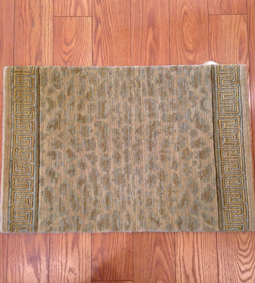 Animal Print Rug Runners For Stairs: Congo CON03 Leopard Animal Print Carpet Stair Runner
