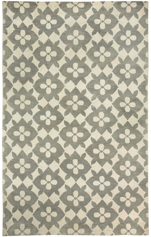 Capel Blossom 1927 360 Light Charcoal Rug