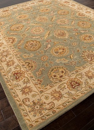 Mythos Callisto MY06 Sea Green / Light Gold Rug by Jaipur