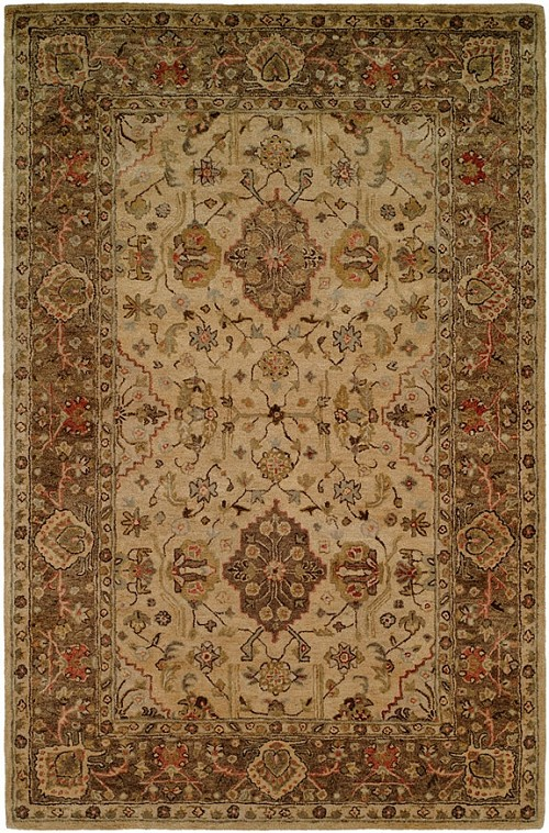 Empire EM-291 Beige Brown Rug by Kalaty