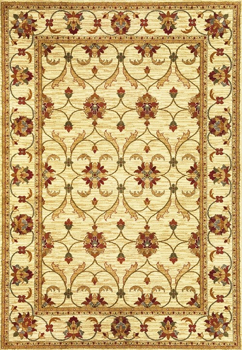 Lifestyles 5471 Ivory Agra Rug by Kas