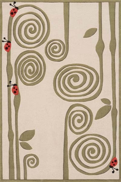 Lil Mo Whimsy LMJ-03 Ivory Rug by Momeni