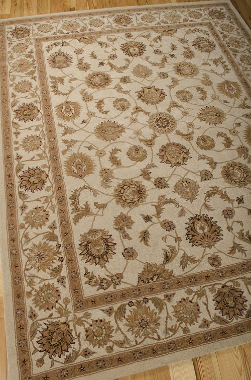 Heritage Hall HE08 Ivory Rug by Nourison
