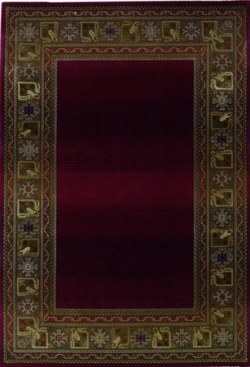 Oriental Weavers Sphinx Generations 3436r Dark Red Rug