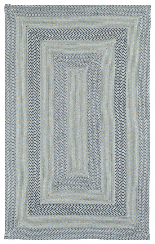 Bimini 3010 17 Blue Outdoor Rug by Kaleen