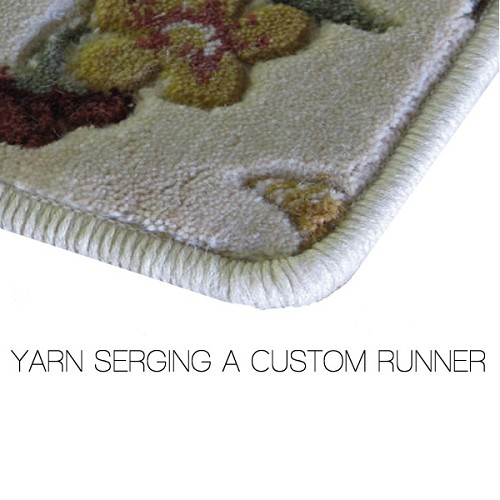 Serging Your Custom Runner