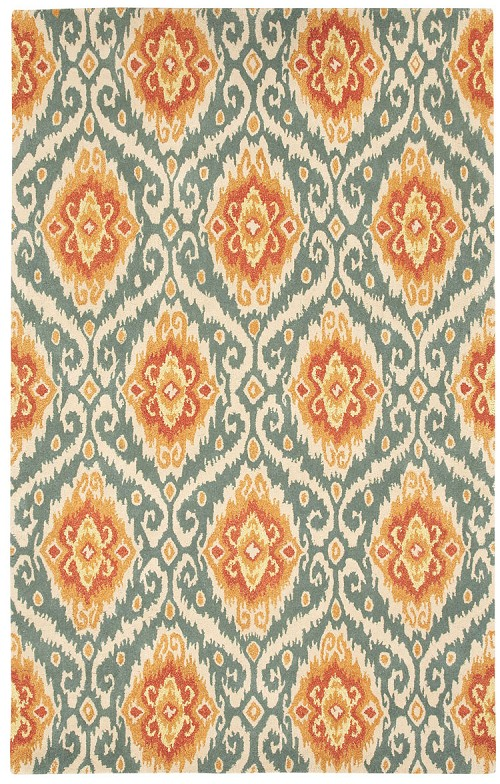 Capel Malaysion 3261 850 Terra Cotta Rug