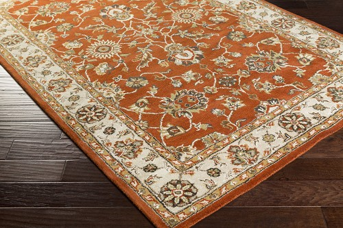 Artistic Weavers Middleton Charlotte AWES2046 Red/Beige Area Rug