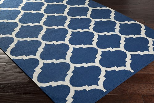 Artistic Weavers Vogue Everly AWLT3005 Blue/White Area Rug