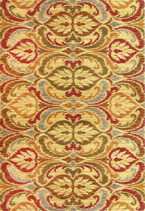 Lifestyles 5466 Gold Firenze Rug by Kas