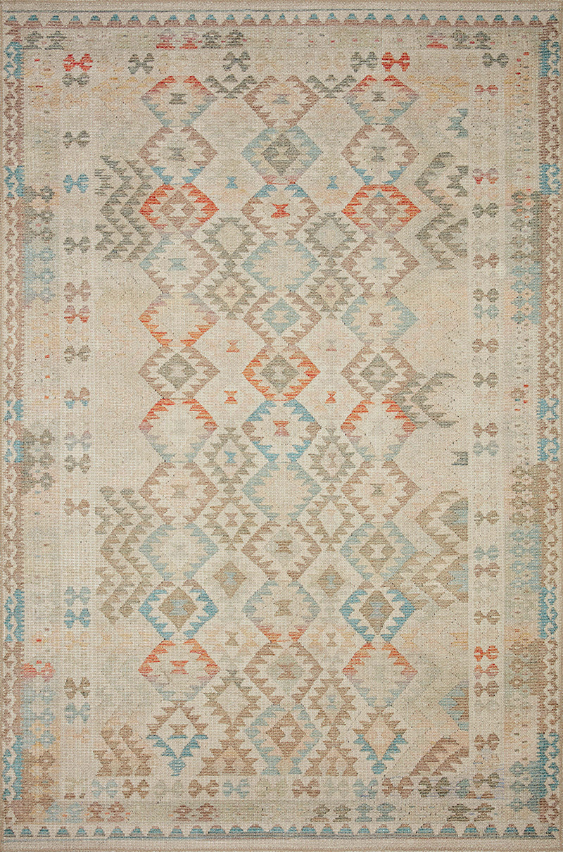 Loloi Malik MAL-02 Natural Multi Rug