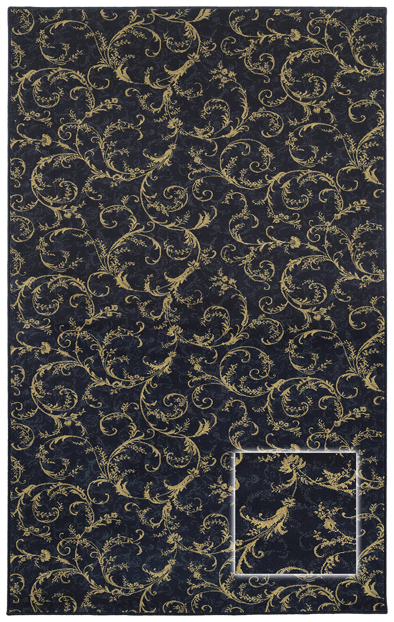 Prestige Weavers Colton NAVY Rug
