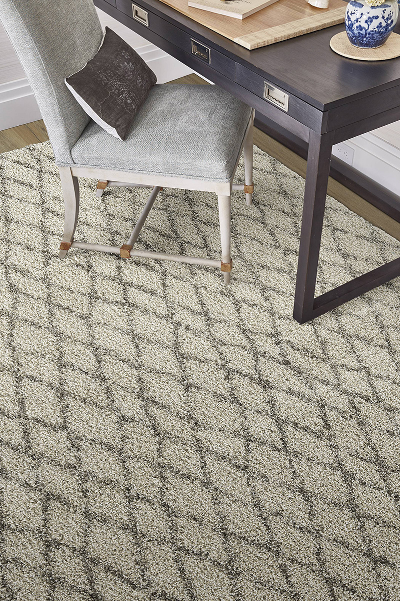 Prestige Weavers Jazz Diamond Sea Salt Rug