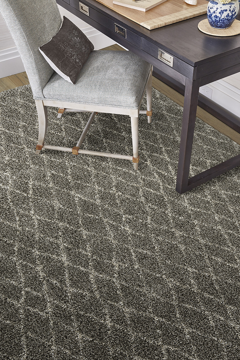 Prestige Weavers Jazz Diamond Stone Rug
