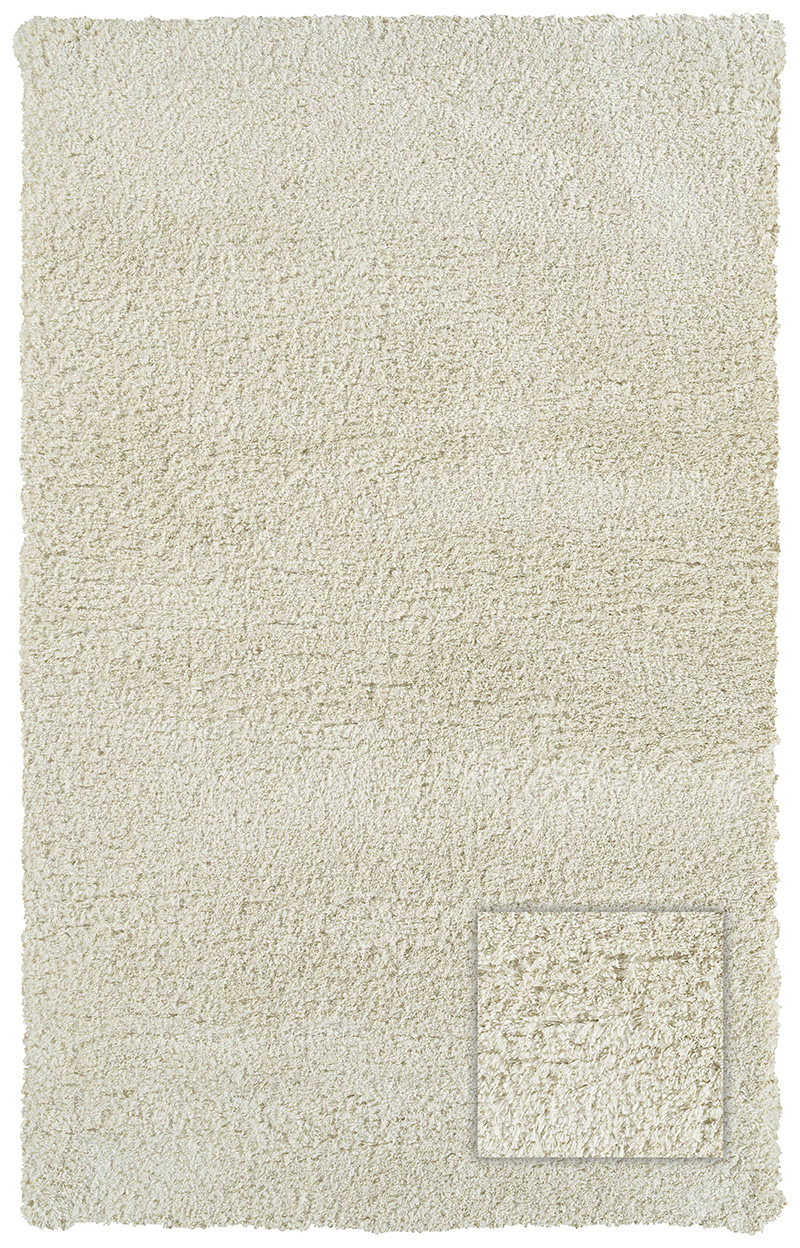 Prestige Weavers Legendary Shag WHITE CHOCOLATE Rug