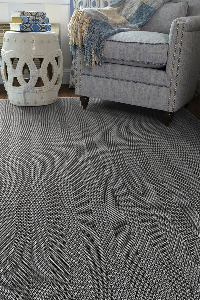Prestige Weavers Seaside Gunmetal Rug