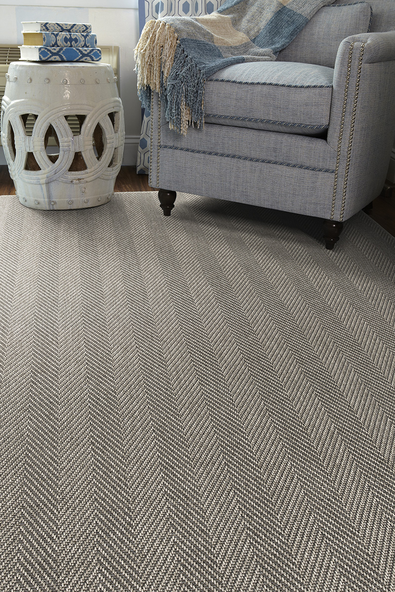 Prestige Weavers Seaside Heather Grey Rug