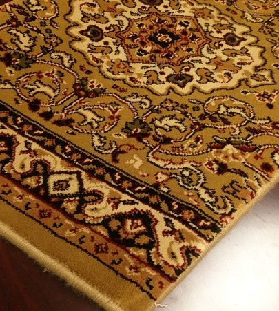 World WO05 Gold Traditional Carpet Stair Runner