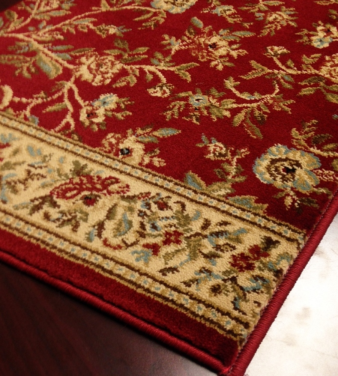 Red Carpet Hallway And Stair Runner