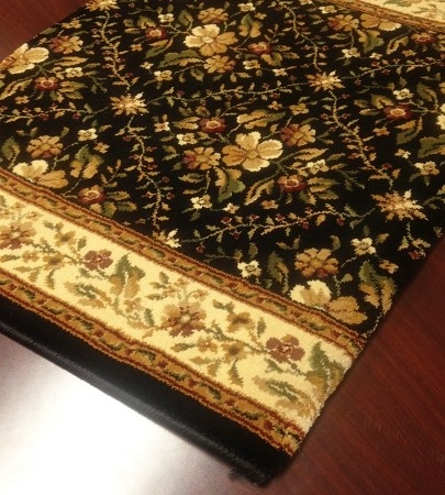 Bainbridge Trellis CB64/0003A Midnight Floral Carpet Stair Runner