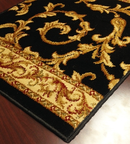 Brilliance BRI-01 Black Carpet Stair Runner