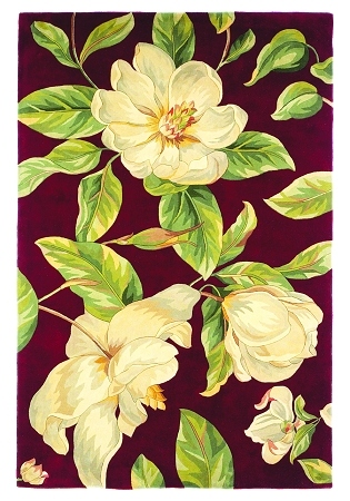 Catalina Magnolia 760 Ruby Rug by Kas