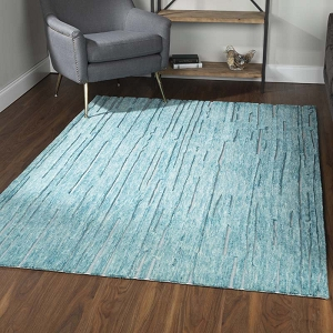 Dalyn Vibes VB1 Teal Rug