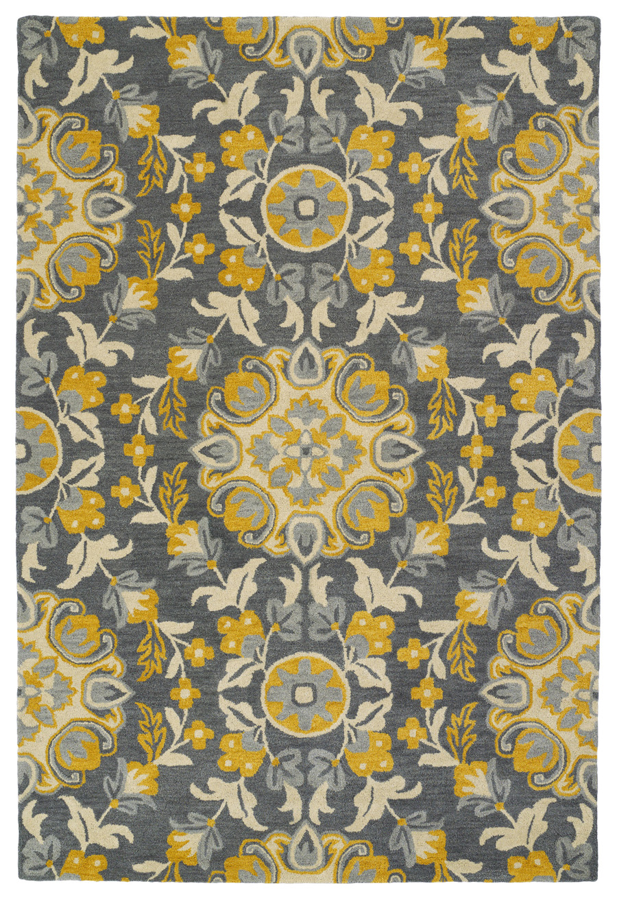 Kaleen Global Inspirations GLB102-75 Grey Rug