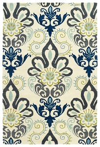 Kaleen Global Inspirations GLB11-17 Blue Rug