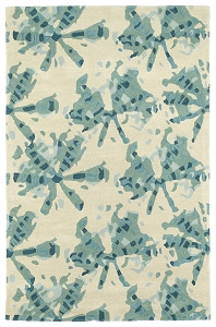 Kaleen Pastiche PAS03-78 Turquoise Rug