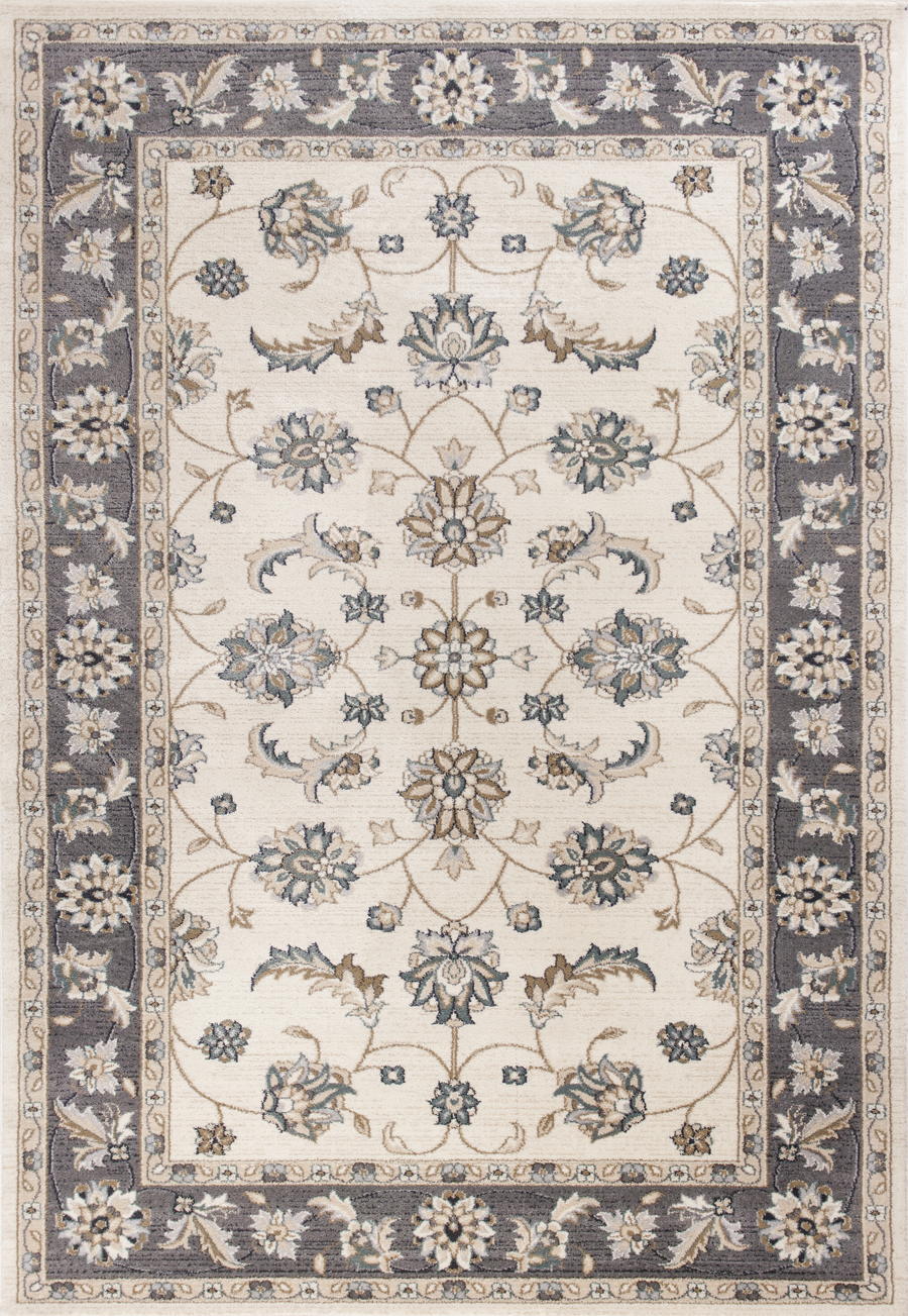 Kas Avalon 5612 Ivory Grey Mahal Area Rug