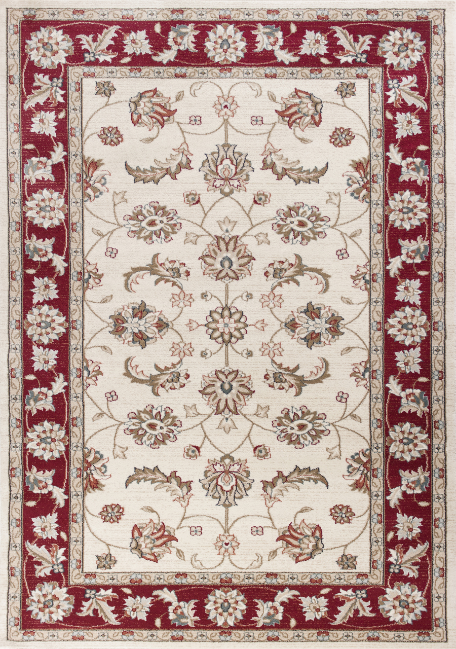 Kas Avalon 5613 Ivory Red Mahal Area Rug