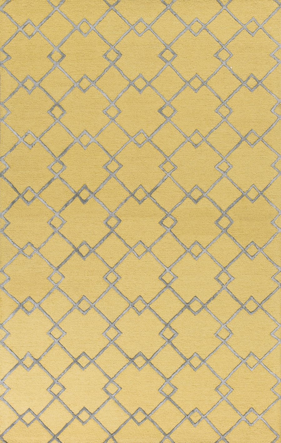 Kas Impressions 4613 Gold Grey Courtyard Area Rug