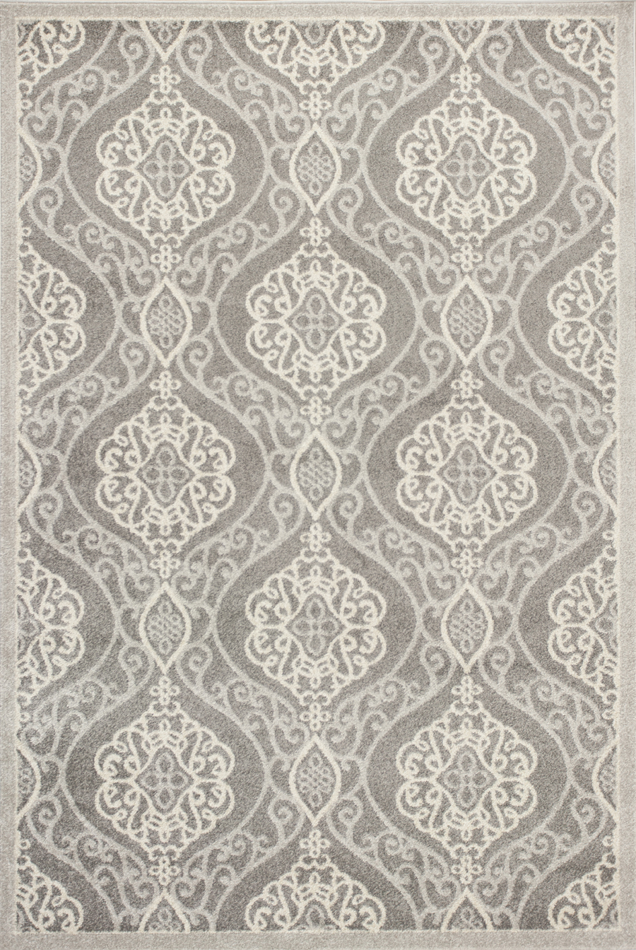 Kas Lucia 2759 Silver Mosaic Area Rug