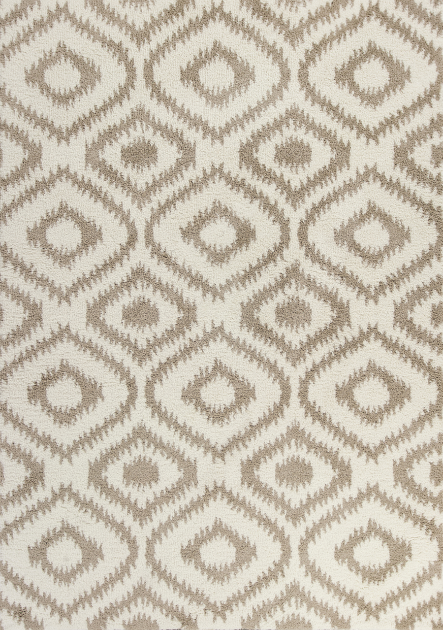 Kas Oasis 1651 Ivory Beige Concentro Area Rug