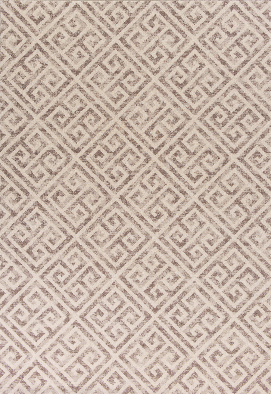 Kas Reflections 7433 Taupe Greek Key Area Rug