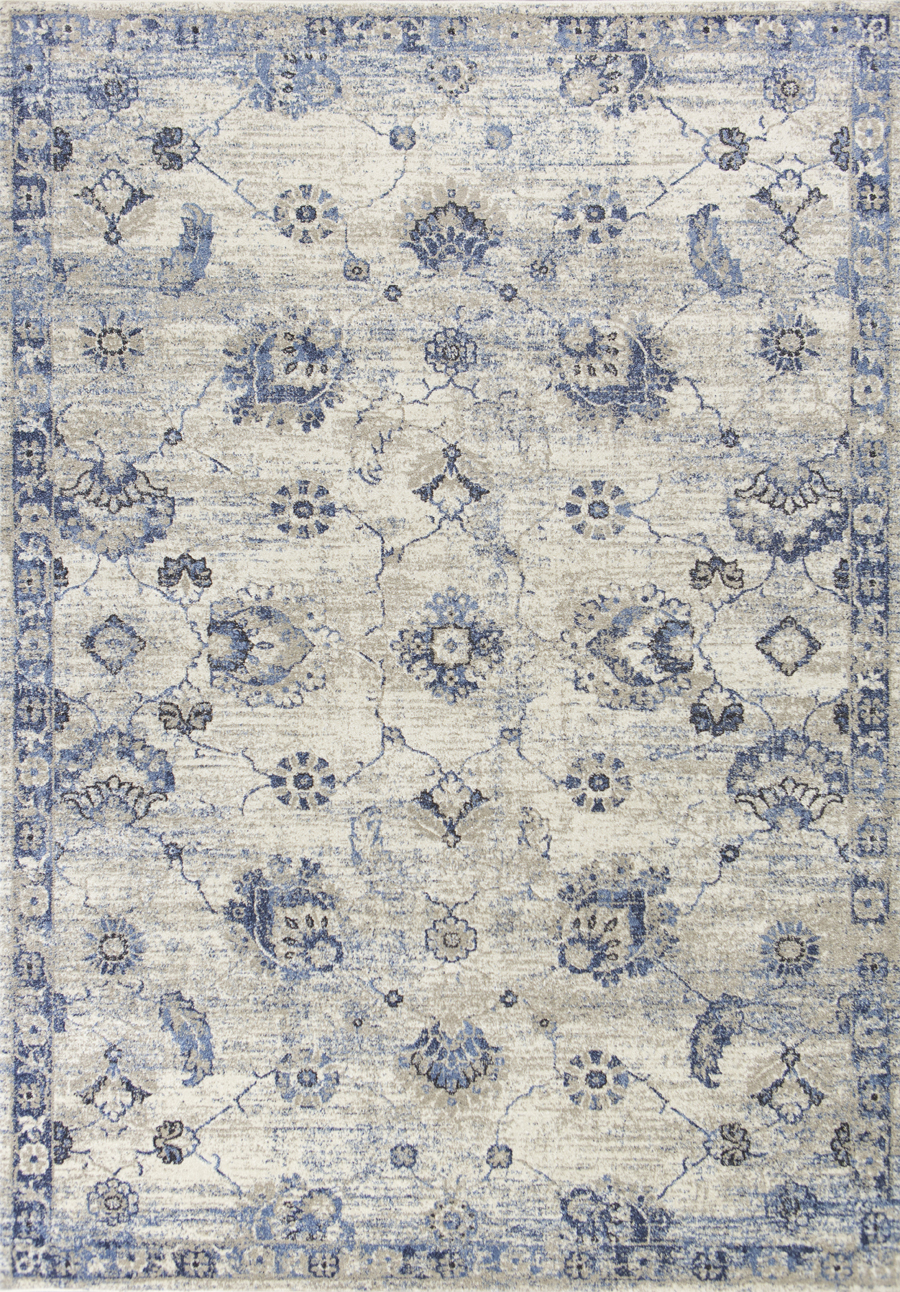 Kas Seville 9480 Grey Blue Sutton Area Rug