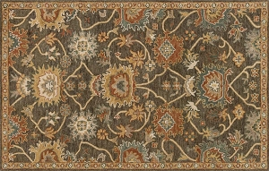 Loloi Underwood UN-01 Charcoal Gold Rug