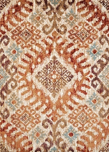 United Weavers Bridges 3001-00236 Verazanno Crimson Rug
