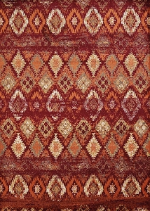 United Weavers Bridges 3001-00536 San Paula Crimson Rug