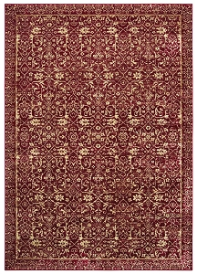 United Weavers Royalton 853 10330 Belvoir Red Rug